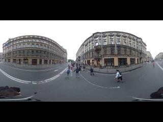 ШОК! ПРОБЕГ РОЛЛЕРОВ 2016 В 360) СПБ (От и До)