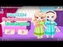 Disney Frozen baby sisters bedtime Elsa Anna Ariel Rapunzel Princess play Truth or dare game
