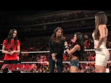 Stephanie McMahon causes unrest in the Divas division Raw, Sept. 1, 2014