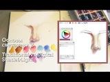 Основы светотени 2 Традиционный рисунок+цифровой Shade&ampLight Traditional&ampDigital