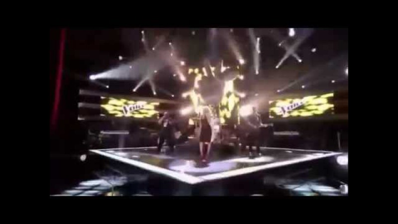 Crazy - Adam Levine, Cee Lo Green, Christina Aguilera and Blake Shelton (The Voice Performace)