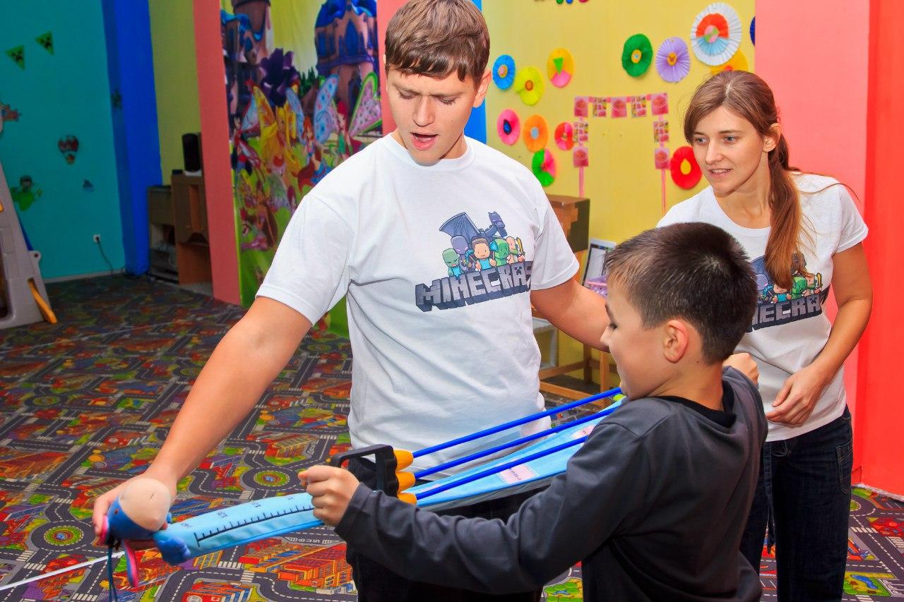 Детский День рождения Minecraft Запорожье