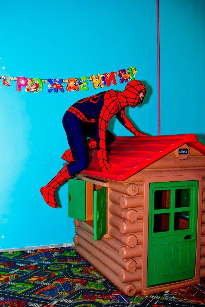 детский праздник человек паук аниматоры Запорожье