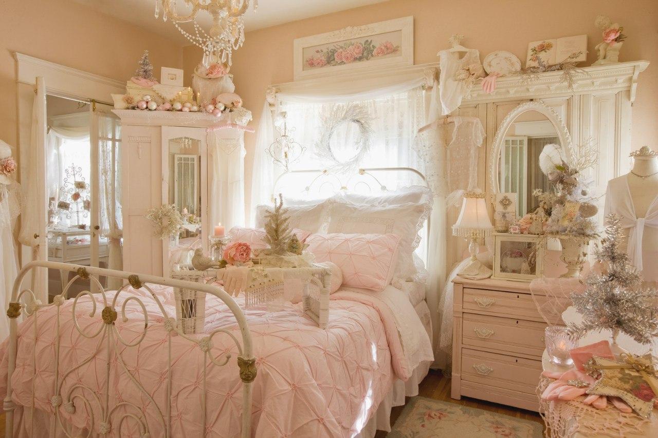 Нежная спальня фото