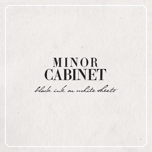 Minor Cabinet – Black Ink on White Sheets (2015)