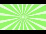 Футаж - радиальная заставказелено-белая