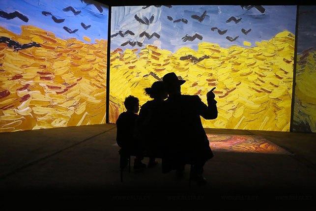 ван гог ожившие полотна выставка в минске