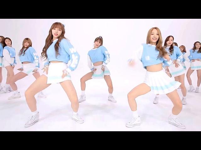 섹시안무 우주소녀 WJSN Cosmic Girls Mo Mo Mo 모모모 @ HOT Dance Practice Mirrored Ver M V