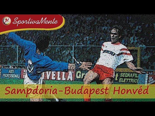 Champions 1991-92 / Sampdoria-Budapest Honvéd / Ottavi di finale (Ritorno)