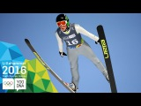 Ski Jumping Individual - Bor Pavlovcic (SLO) wins Men's gold | Lillehammer 2016 Youth Olympic Games