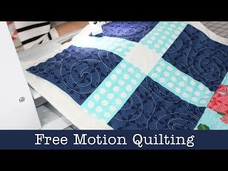 How to Free Motion Quilt on Home Machine - Lella Boutique - Fat Quarter Shop