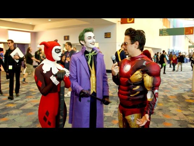 Harley's Joker Interview: WonderCon 2013