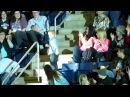 Little boy dancing at the Rascal Flatts concert
