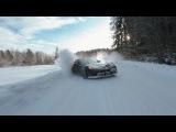 Crazy winter drift, Russia (Vine Video)