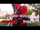 Bro Hugs With Deadpool Spider-Man