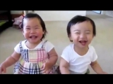 Дети обрызгались и заразительно хохочут весело и позитивно