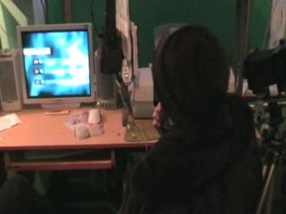 2010 год, февраль - одноклассники в Устье. Автор: Виктор Попов.
