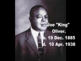 Too Late - King Oliver 1929 г. США.