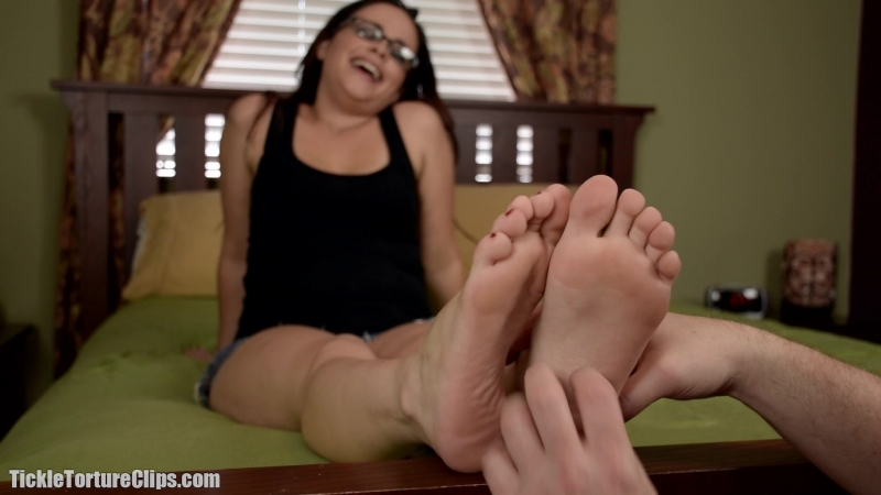 Michelle Maverick Feet on the bed POV Tickling (good quality)