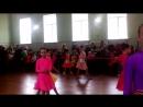 Ліза. Танець Ча-ча-ча. Всеукраїнський конкурс зі спортивно-бального танцю 24.04.2016
