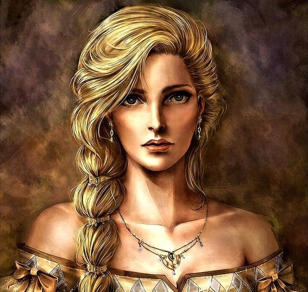 — Итак, сынок, — сказал король, — ты говоришь, что нашел на чердаке портрет сказочной красавицы и хочешь на ней жениться?