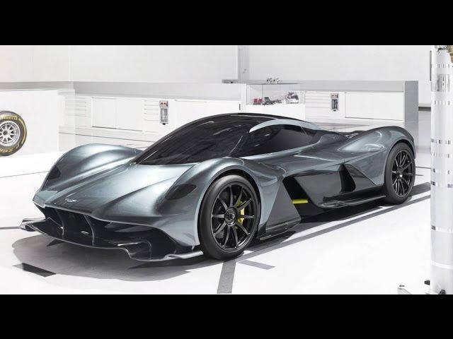 Aston Martin-Red Bull AM-RB 001 рассекречен дизайн гиперкара