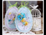Easter Eggs Cardmaking Tutorial Wild Orchid Crafts
