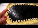 Tutorial borsa in cordino con patella della Fata Tuttofare con cordino Tessiland