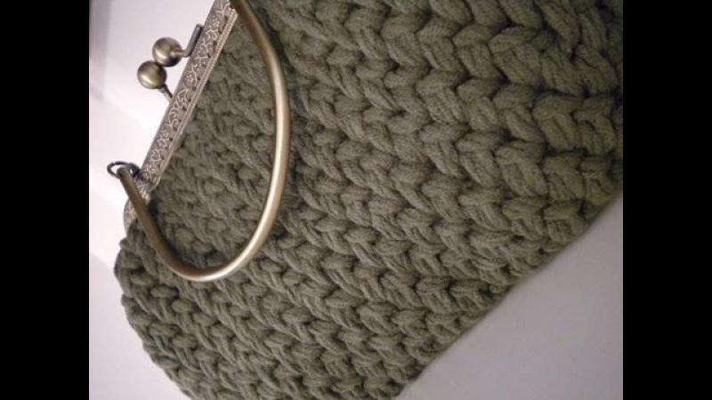 Tutorial Uncinetto/Crochet: fondo ovale per borse