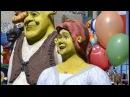 VLOG Аттракционы. Царство Шрека и Фионы. Shrek and Fiona. Огромный Шар на воде. Обезьянка.