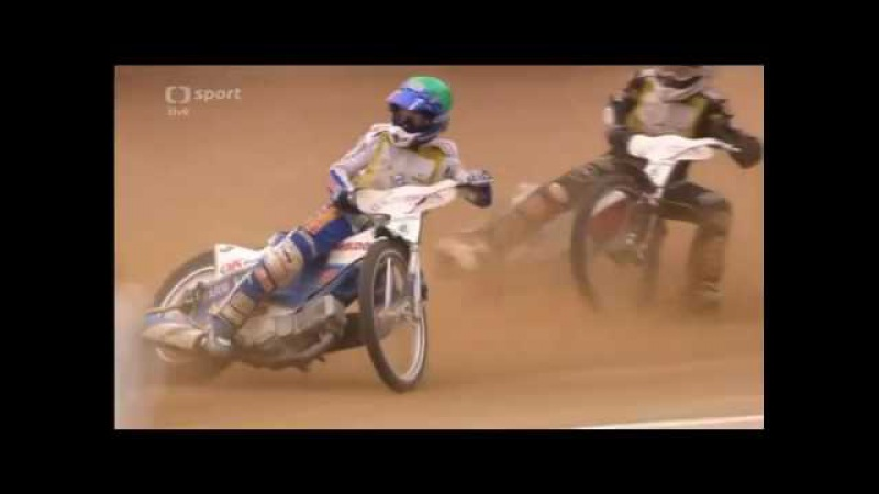 Crash Nicki Pedersen (Final Zlata Prilba 18.09.2016)