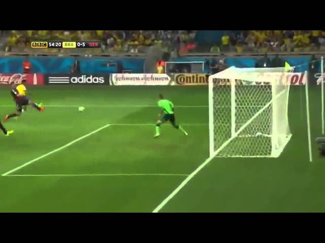 FIFA World Cup 2014 Brazil vs Germany 1 7 Highlights BBC