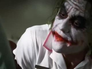 Джокер читает Есенина (Joker declaims Esenin)