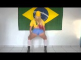 Debora Fantine   Dançando o Hino Nacional