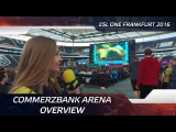 Commerzbank Arena overview @ ESL One Frankfurt 2016
