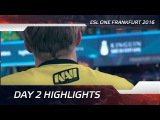 Day 2 Highlights @ ESL One Frankfurt 2016