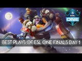 BEST Plays of ESL One Frankfurt Finals Day 1!
