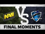 WATCH FIRST: FINAL FIGHT - Na`Vi vs Vega @ ESL One Frankfurt 2016