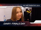 Diary: Finals day @ ESL One Frankfurt 2016 (ENG SUBS SOON!)