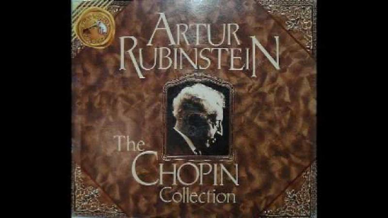 Arthur Rubinstein - Chopin Fantaisie Impromptu in C sharp Minor, Op. 66 Posth