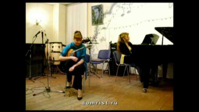 Джаз на домре! Юрий Чугунов Вальс и блюз. Jazz domra