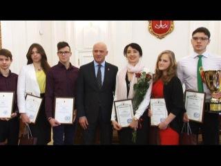 Геннадий Труханов: Призёры у мэра. Чемпионат мира SAGE 2015
