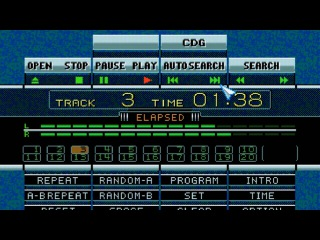 Sonic the Hedgehog CD / Mp3 (Tracks 1 - 4) Ost / Sega CD - EmeraldGP