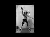 Гиревой фитнес с Катей Малюк.