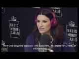 Лаура Паузини на радио RMC (20-01-2016) (rus sub)