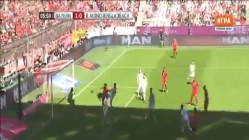 Футбол. Bundesliga. Бавария - Боруссия М. 10 Томас Мюллер 6