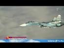 Су-27 пролетел в опасной близости от американского самолета-разведчика