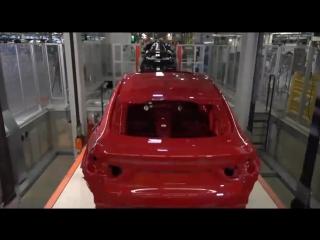Как собирают BMW X5-X6 на заводе в США