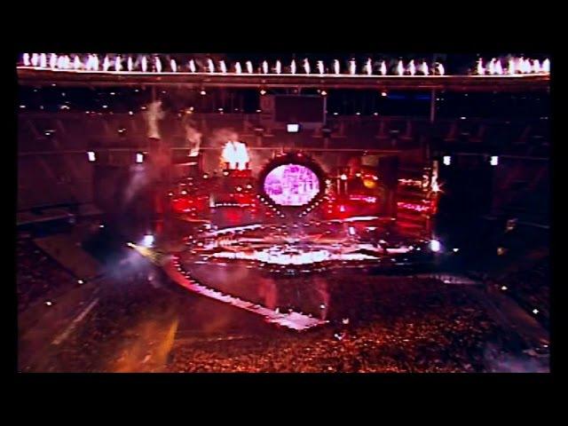 JOHNNY HALLYDAY Allume le feu Stade de France Paris 1998 Haute qualité