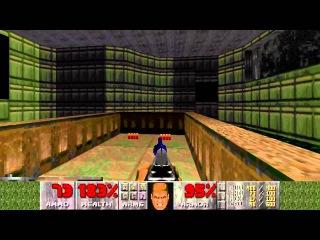 Ultimate Doom Ep 1 - 100% Secrets Speedrun in 7:15